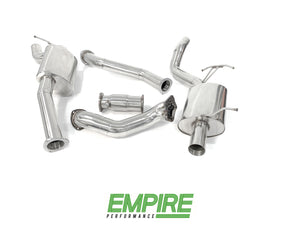 Ford Falcon FG Sedan (2008-2014) Turbo XR6 FPV  Stainless Exhaust Turbo Back