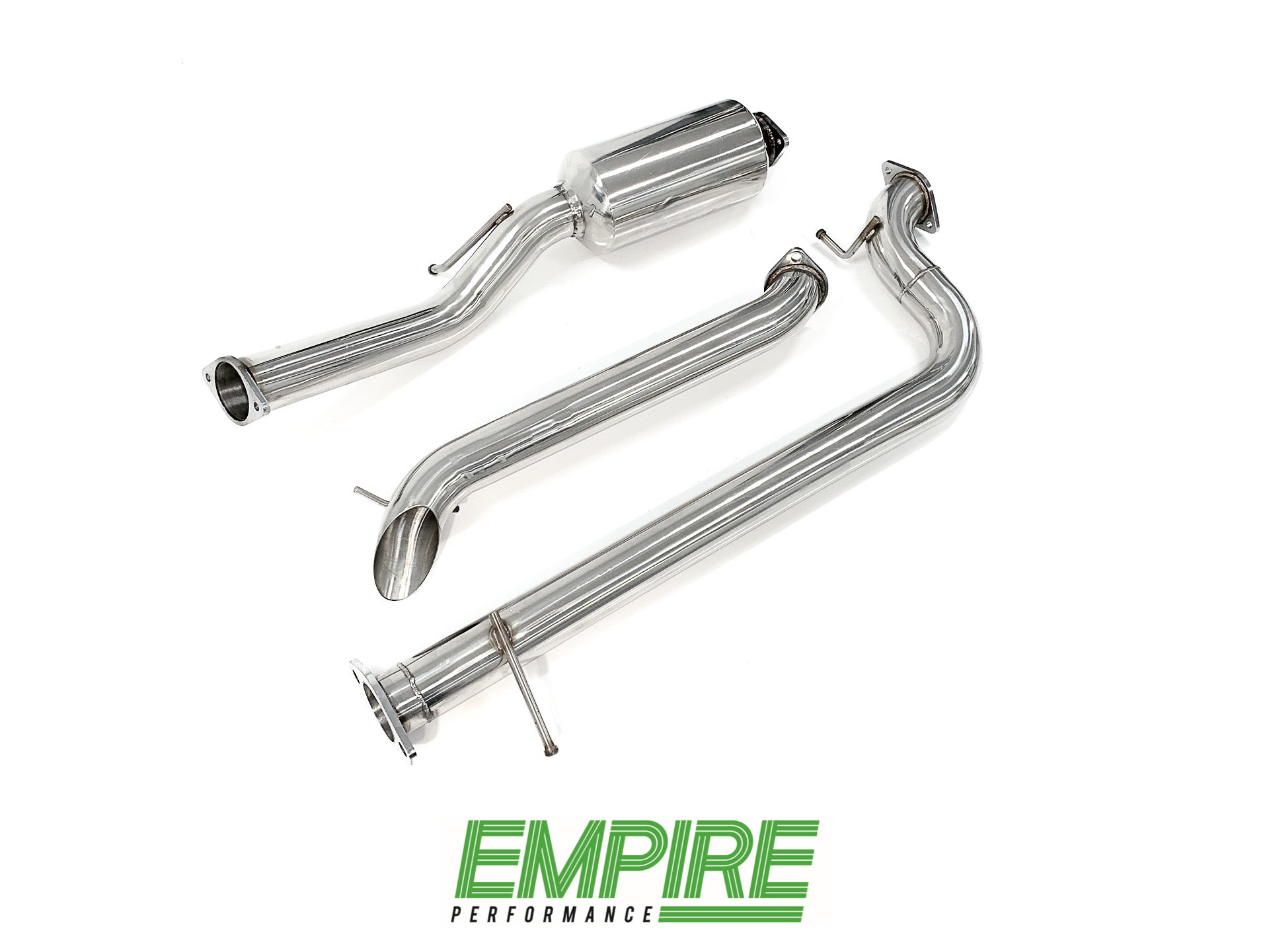 Mazda 3 MPS Stainless catback exhaust. 3
