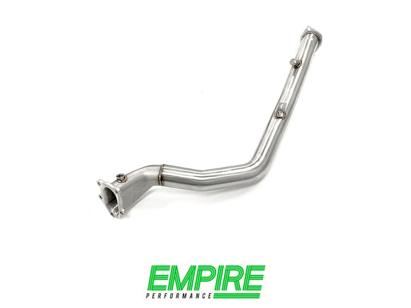 Subaru WRX & STI (2008-2015) Premium spec Down Pipe Exhaust - CAST Bell Mouth