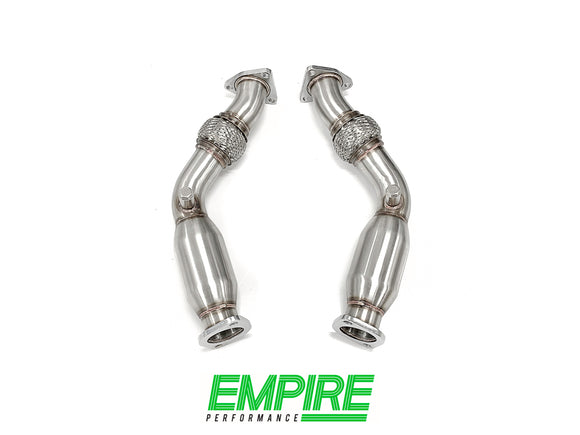 Nissan 350Z (2002-2007) Cat Delete Pipes with Resonators
