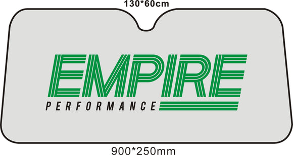 EMPIRE Car Front Window Sunshade