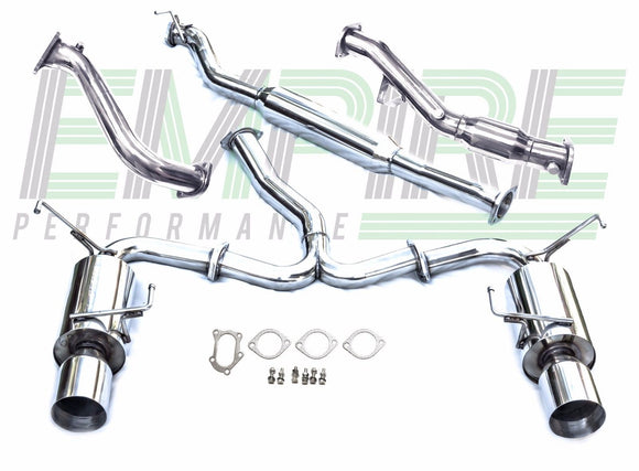 Subaru WRX STi Sedan 2015 Exhaust