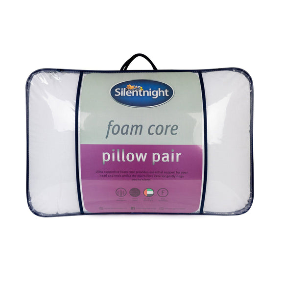 Silentnight Soft Foam Core Pillow