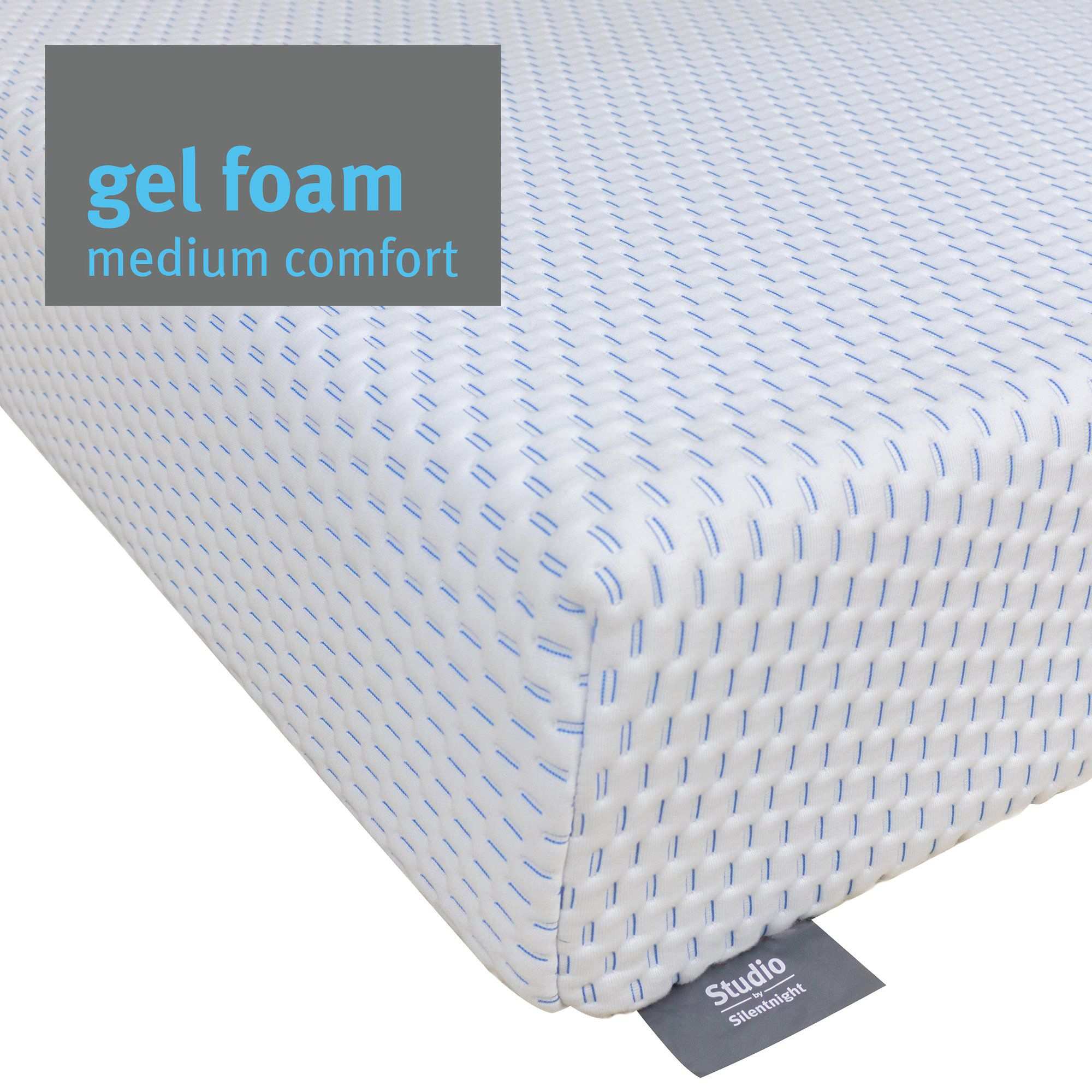 Studio Mattress - Gel Memory Foam