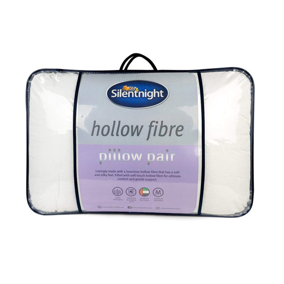 Silentnight Hollow Fibre Pillow Pair