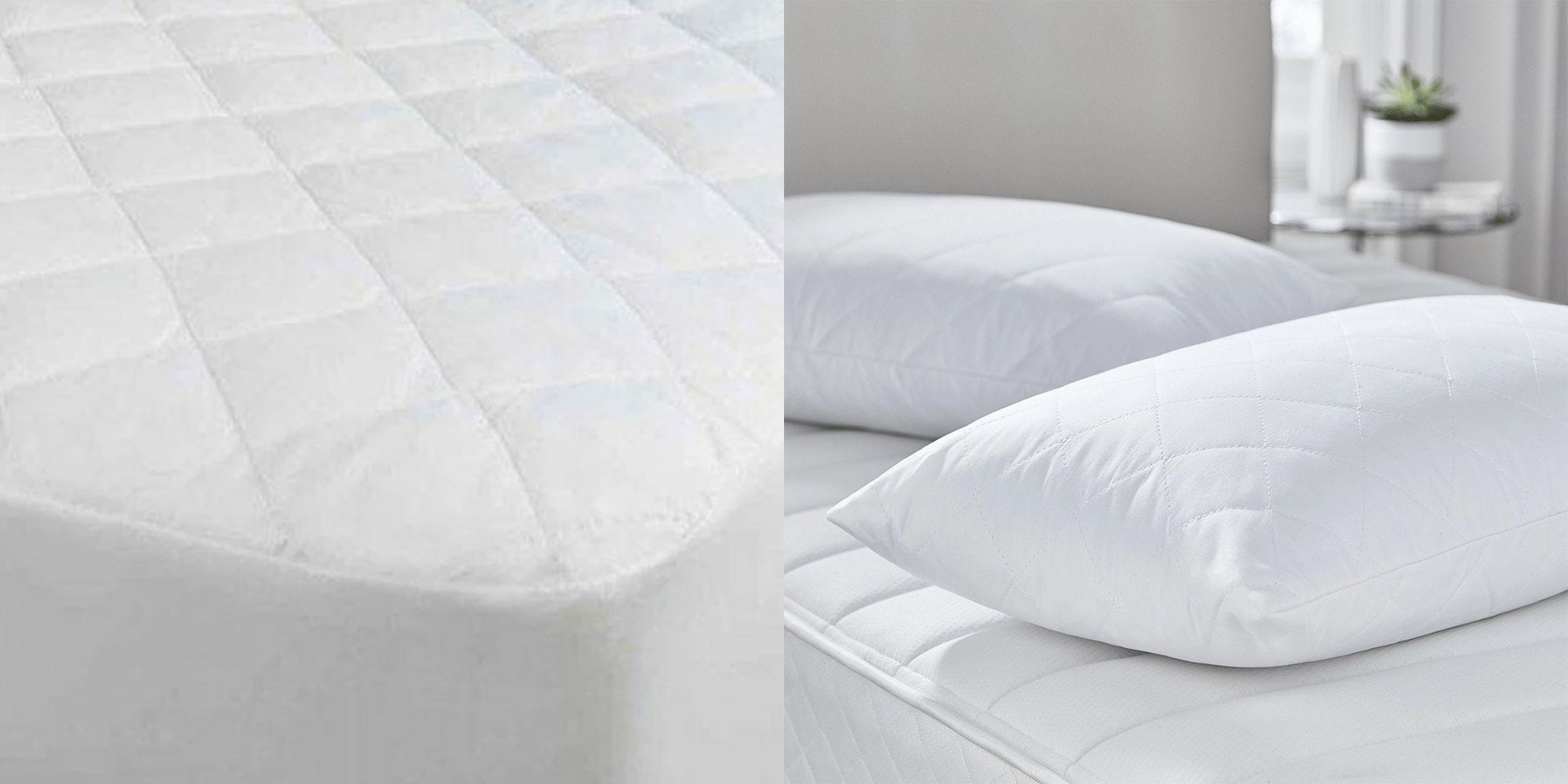 Luxury Mattress Protector & Pillow Protector Set