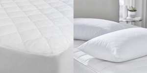 Luxury Mattress Protector + Luxury Pillow Protector