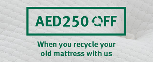 Recycle your old mattress with us