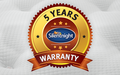 Silentnight 5-Year Warranty