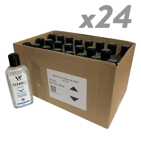 24 x 250ml CleanMe Alcohol Gel