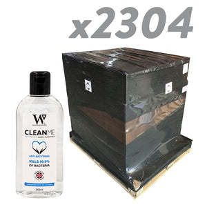 Alcohol Gel 250ml Pallet 96 boxes x 24 - 2304 units