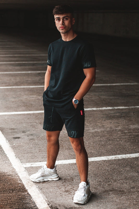 Black Luxe RMDY. Shorts