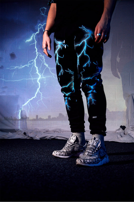 Lightning RMDY. Tapered Joggers
