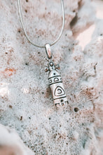 Scuba Tank Sterling Silver Necklace