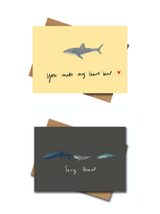 Scuba Greeting Cards - Pack of 2