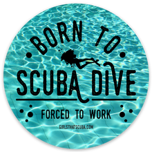 Girls that Scuba Laptop Sticker Set
