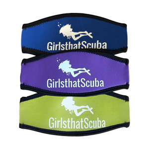 Girls that Scuba Mask Strap Cover