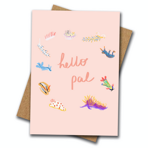 Hello Pal - Greeting Card