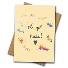Let's Get Nudi! Greeting Card