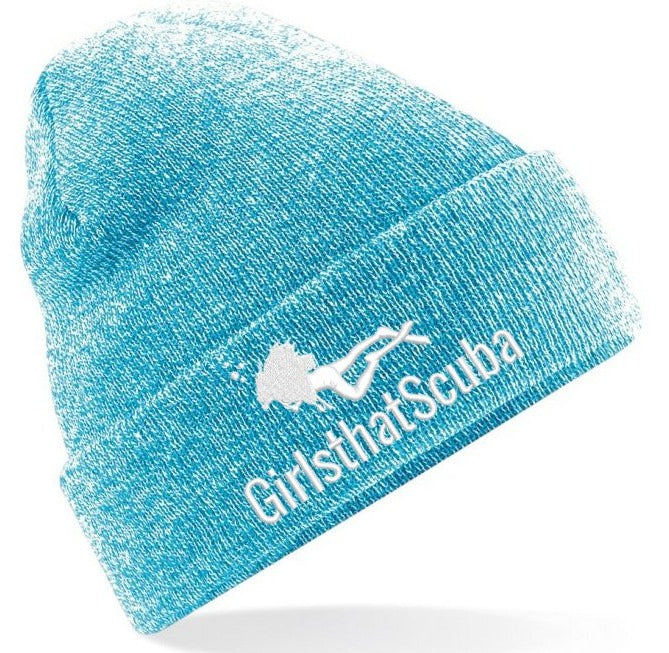 Girls that Scuba Beanie Hat