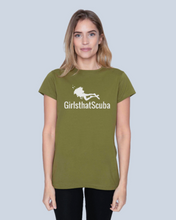 Girls that Scuba T-shirt - Khaki