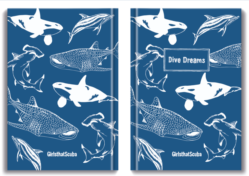 Scuba Dive Dreams Notebook