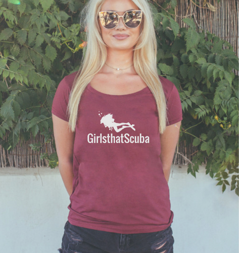 girls that scuba Tshirt