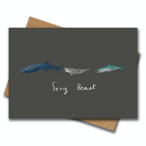 Sexy Beast - Greeting Card