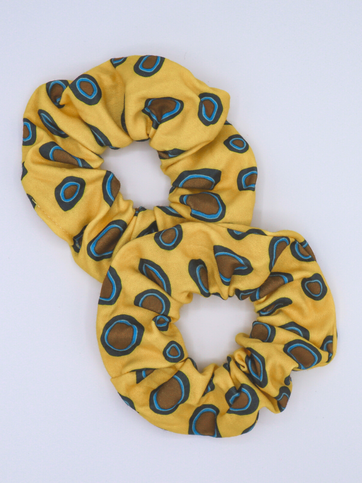 Blue-ringed Octopus Scrunchie