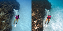 Girls that Scuba Underwater Edit Presets