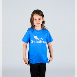 Kids Girls that Scuba T-shirt