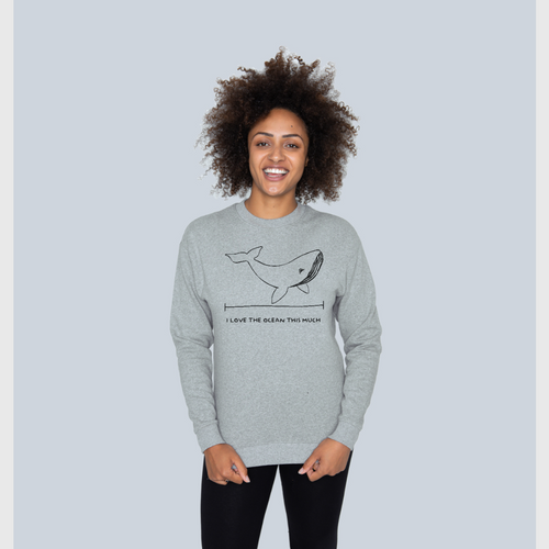 Sustainable Ocean Sweatshirt