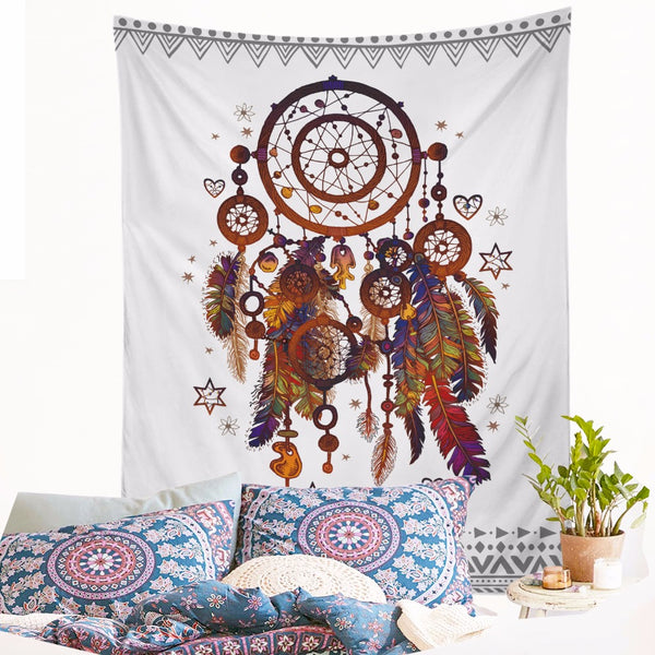 Attrape Reves Dreamcatcher Decoration Murale 2 tailles - Alavente.com