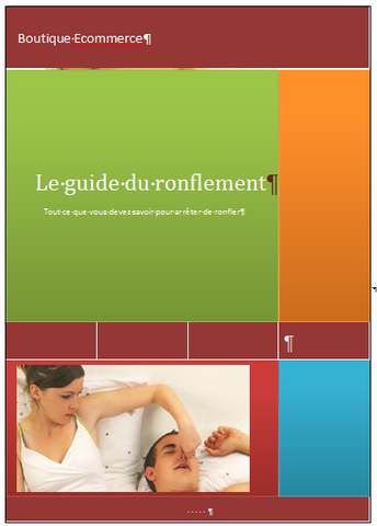 guide du ronflement