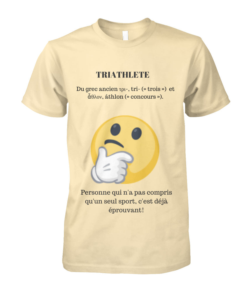 T-shirt de triathlon Thinking