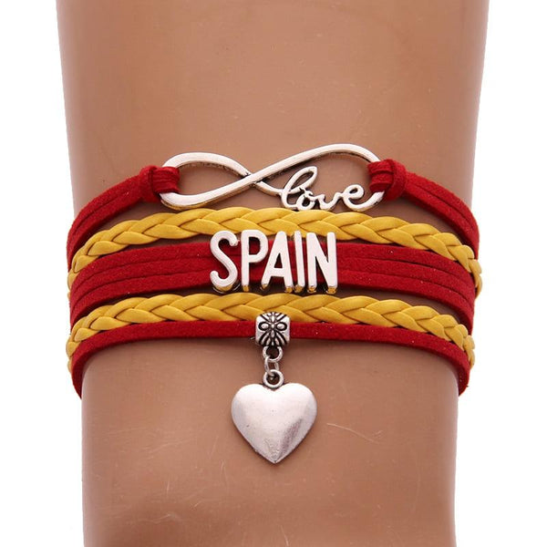 Coupe du monde 2018 FRANCE bracelet Amour