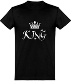 T-shirt Homme KING