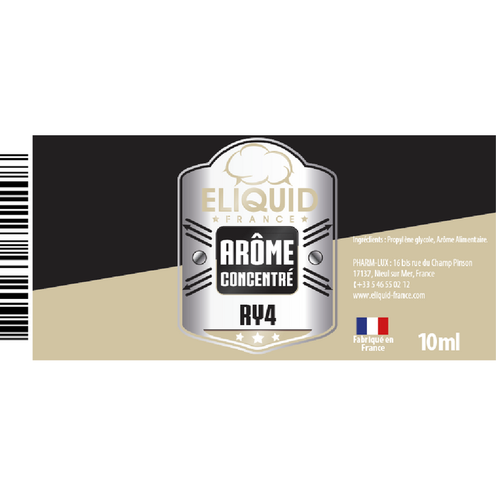 Arôme DIY Eliquid France RY4