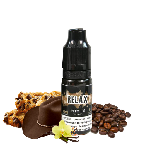 E-liquide Tabac gourmand Relax - Eliquid France