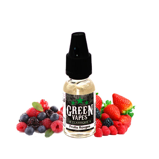 E-liquide Fruit Fruits Rouges - Green Vapes