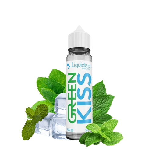Eliquide Liquideo Green Kiss 50ml Prêt à booster