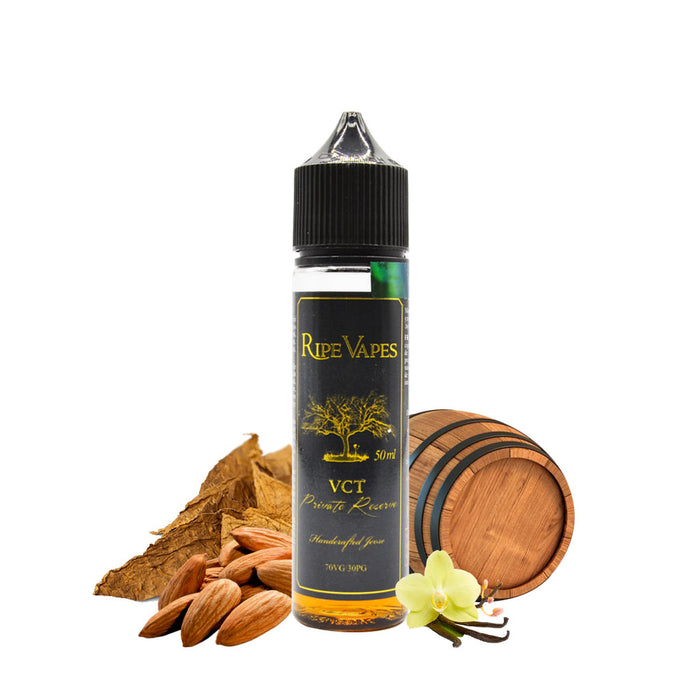 E liquide Vct Private reserve 50ml - Ripe Vapes