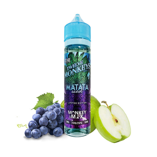 E-liquide Fruit Matata Iced 50ml - Twelve Monkeys