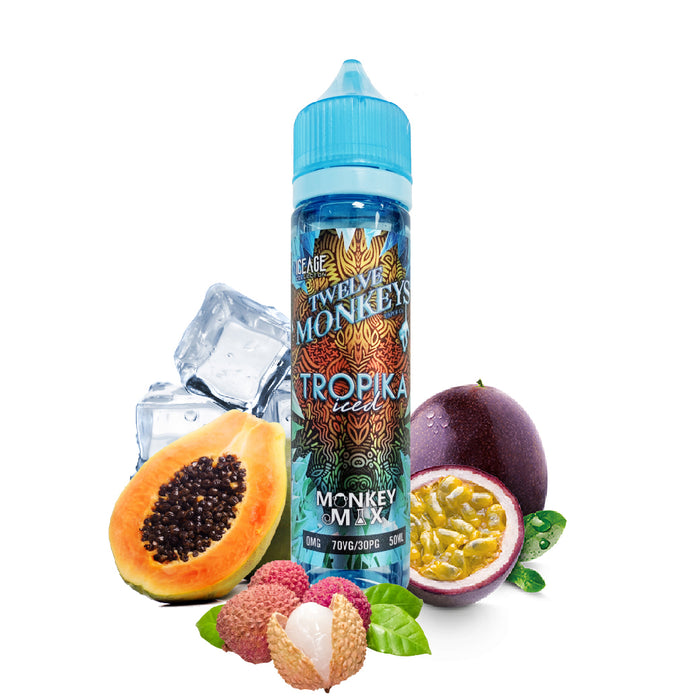 E-liquide Fruit Tropika Iced 50ml - Twelve Monkeys