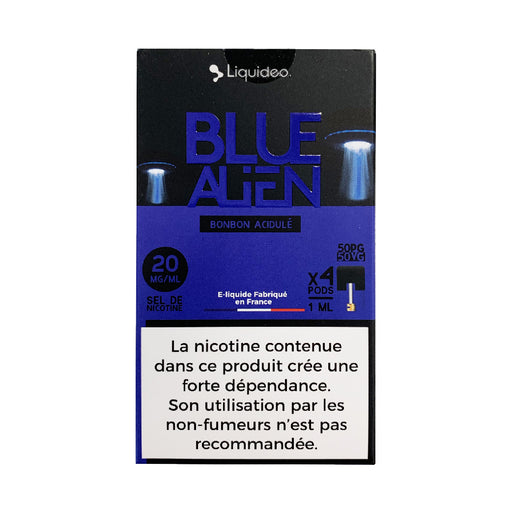 Wpod Blue Alien Liquideo - Compatible Juul et Vaze