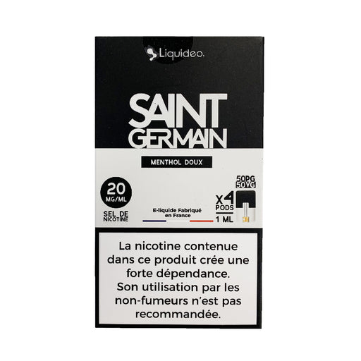 Wpod Saint Germain Liquideo - Compatible Juul et Vaze
