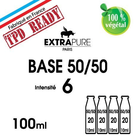 Pack base 50/50 6mg EXTRAPURE