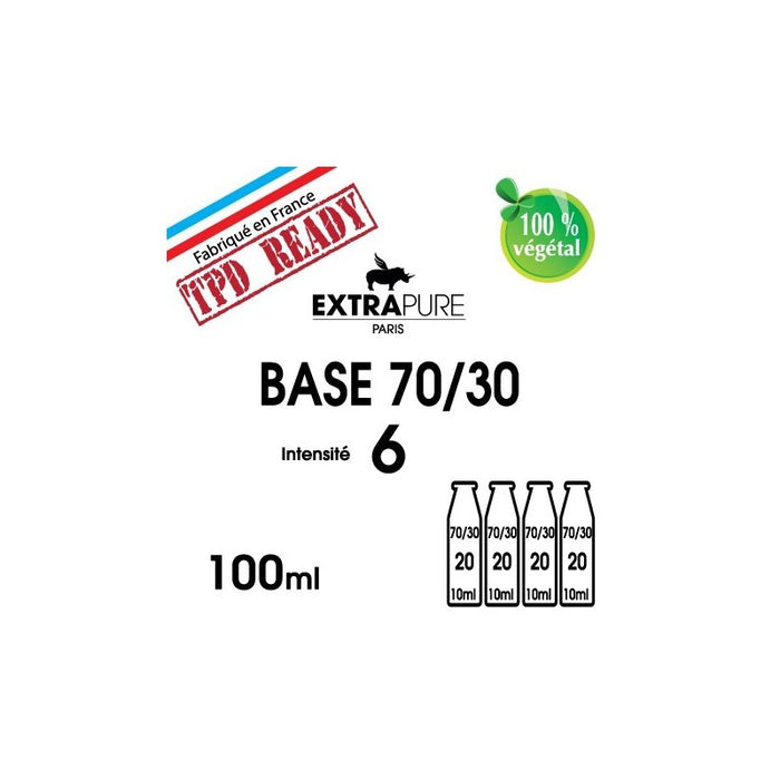 Pack base 70/30 6mg EXTRAPURE