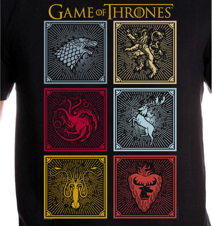 Tee shirt Game Of Thrones