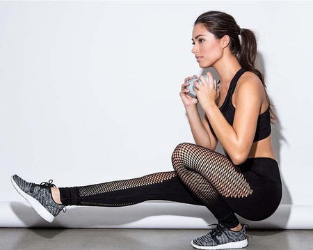 Legging Mesh Noir - FitMesh - Viva Healthy